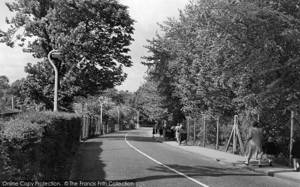 Beddington, Plough Lane 1958