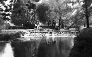 Beddington, River Wandle, Grange Park 1952