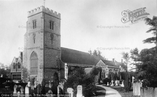 Beddington, St Mary's Church 1890