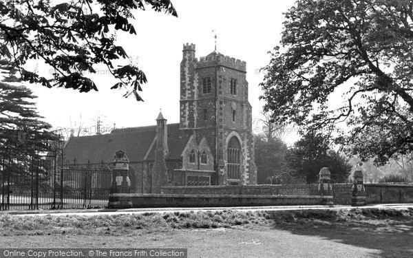 Beddington, St Mary's Church 1952