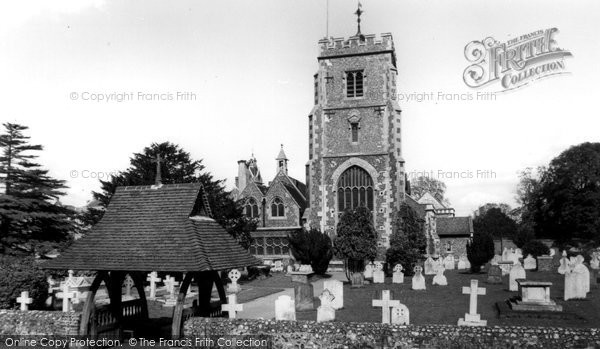 Beddington, St Mary's Church c.1958