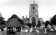 Beddington, St Mary's Church c1958
