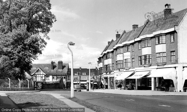Beddington, The Broadway c.1958