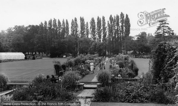 Beddington, The Flowered Walk, Grange Park 1950