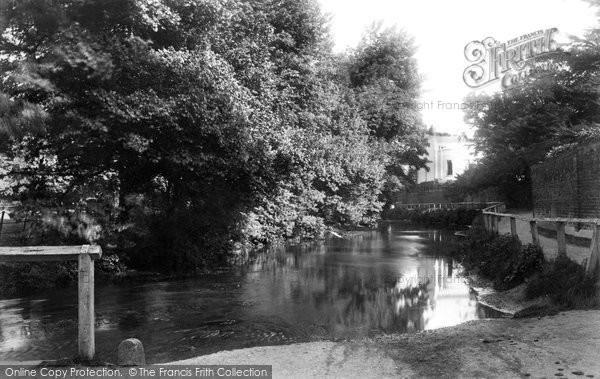 Beddington, View On The Wandle 1890