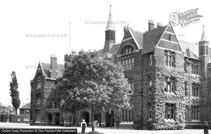 Bedford, Bedford School c.1950