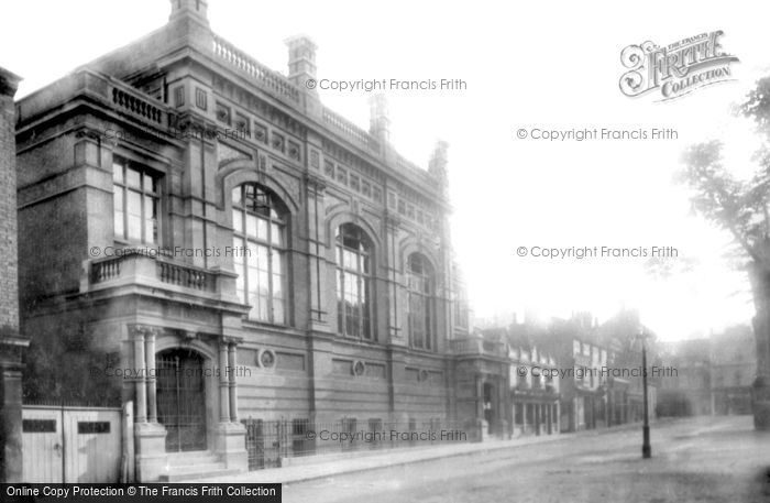 Bedford, Corn Exchange 1897