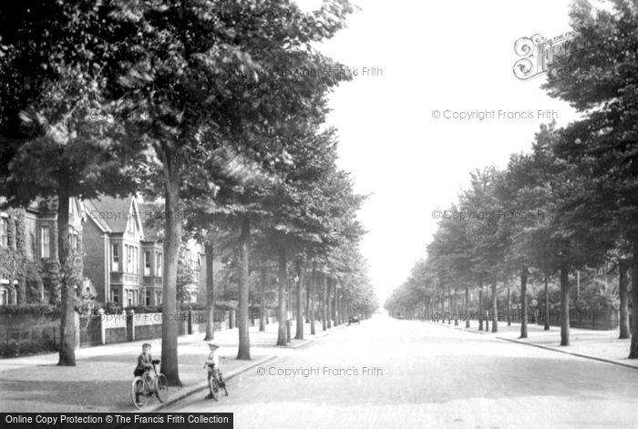 Bedford, De Parys Avenue 1921