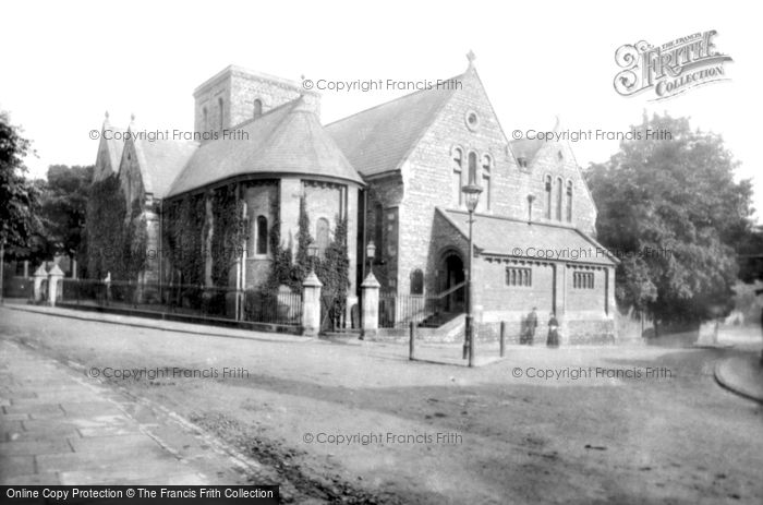 Bedford, St Cuthbert's Church 1897