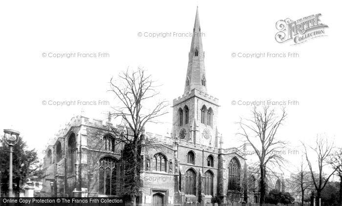 Bedford, St Paul's Church 1898