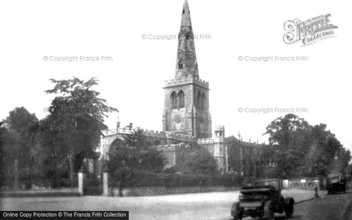 Bedford, St Paul's Church 1921