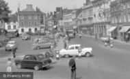 Bedford, St Paul's Square And High Street 1960