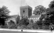Bedford, St Peter's Church 1897
