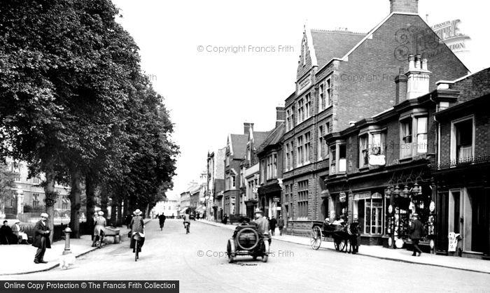 Bedford, St Peter's Street 1921