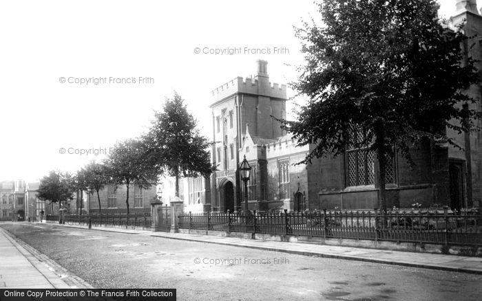 Bedford, The Harpur Schools 1897
