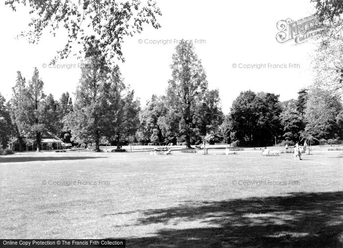 Bedford, The Park  c.1960