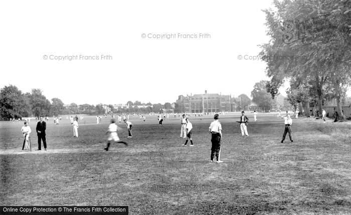 Bedford, The School Sports Field 1921