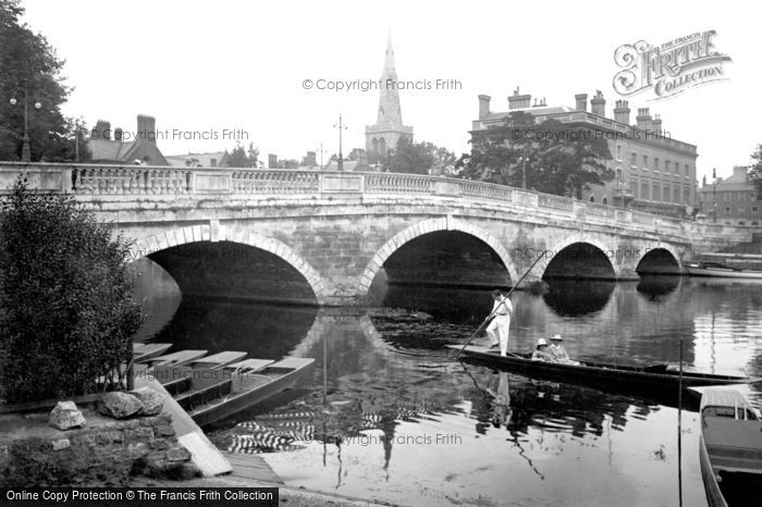 Bedford, The Town Bridge 1921