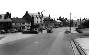 Bedlington, Market Place c.1965