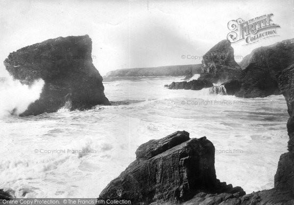 Bedruthan Steps, 1901