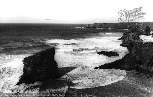 Bedruthan Steps, c.1960