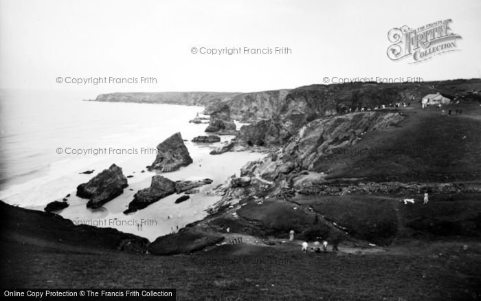 Bedruthan Steps, The Bay 1935