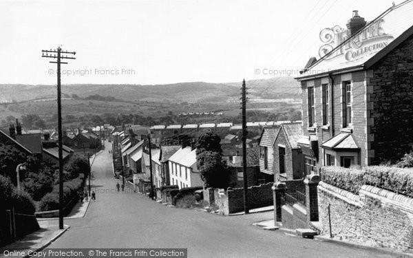 Bedwas, Church Street c.1955