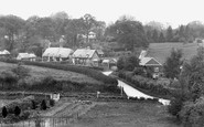 Beech, Old Cottages 1928