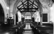 Beeford, The Church Interior c.1960