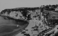 Beer, Beach And Headland c.1965