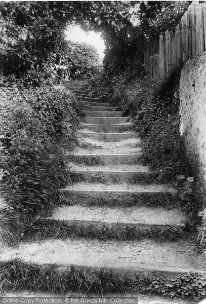 Beer, Cliff Steps 1907
