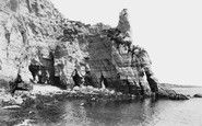 Beer, Smuggler's Caves 1907