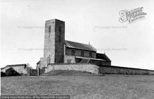 Beeston Regis, All Saints Church c.1955