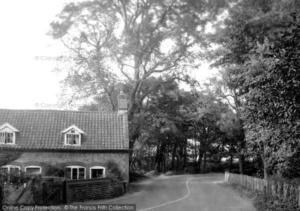 Beeston Regis, Lodge Corner 1933