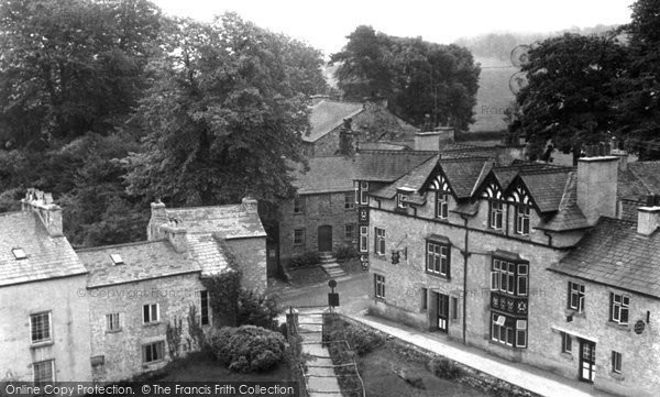 Beetham, Village From Church Tower c.1955