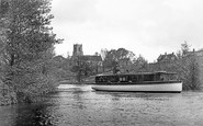 Belaugh, The Church And The River Bure c.1930