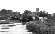Belaugh, The Village From The River Bure c.1930