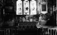 Belbroughton, Parish Church Interior c.1965
