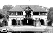 Belfast, Boat Club House, River Lagan 1936