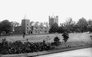 Photo of Belfast, Campbell College from Entrance 1897
