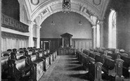 Belfast, Council Chamber, City Hall c.1910
