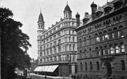 Belfast, Linen Warehouses c.1910
