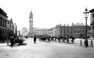 Photo of Belfast, Queen's Square 1897