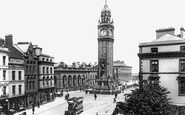 Photo of Belfast, the Albert Memorial and Clock Tower 1897