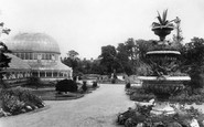 Photo of Belfast, the Botanic Gardens 1897