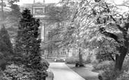 Belfast, View In Botanic Gardens 1936