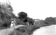 Belfast, View On Lagan 1936