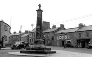 Belford, The Cross And Main Road c.1950