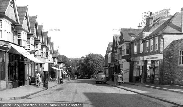 Belmont, Station Road c.1955