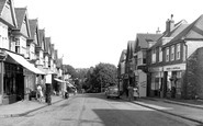 Belmont, Station Road c1955